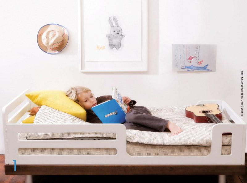 Lit Pour Enfants - Nouvelles Tendances Avec Traits D'Co