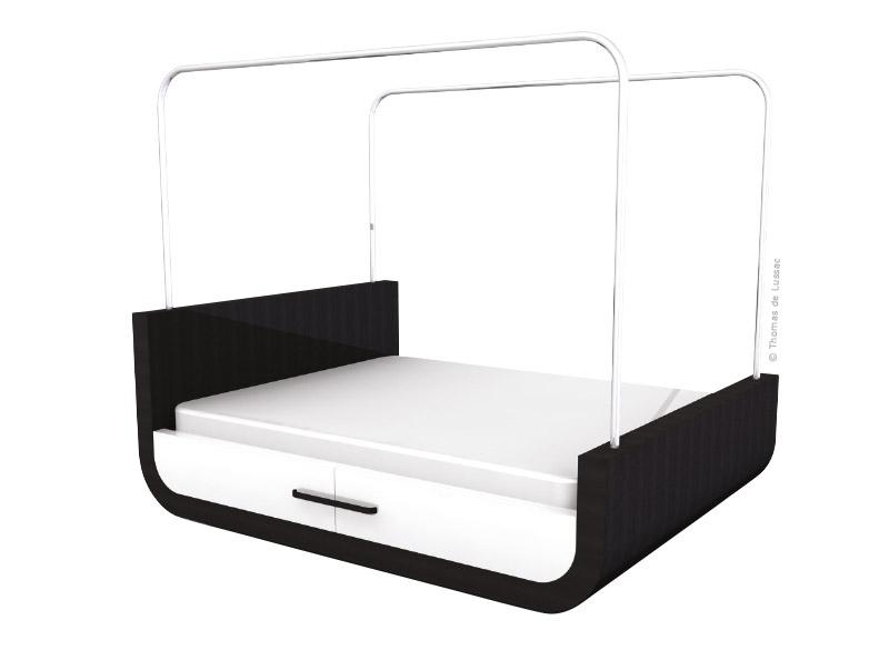 lit baldaquin le come back traits d 39 co magazine. Black Bedroom Furniture Sets. Home Design Ideas