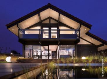 Maisons bois contemporaines