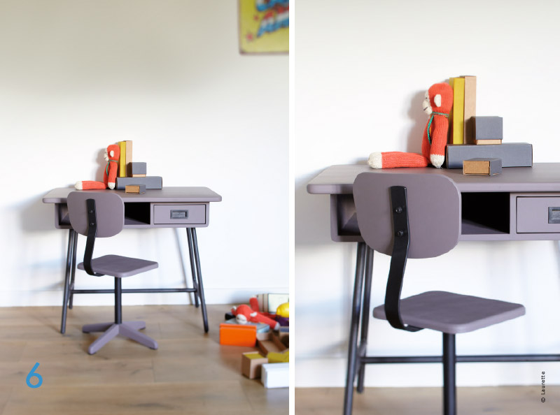Bureau enfant design mati re mod les avec traits d 39 co for Bureau 3 ans