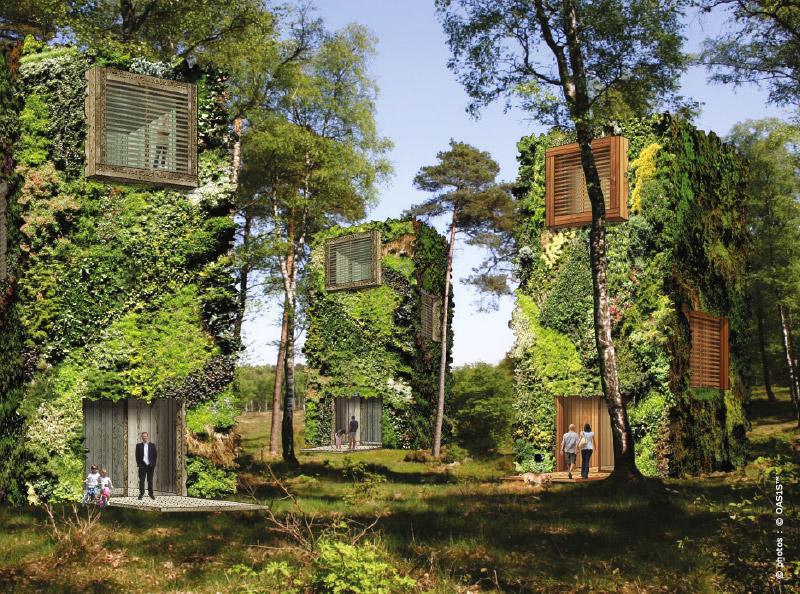 Logements futuristes une oasis rig e en c ur de ville for Architecture futuriste ecologique