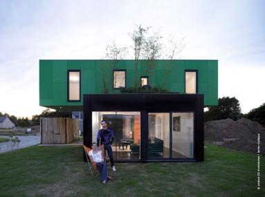 La maison container s duit de plus en plus traits d 39 co - Autoconstruction maison container ...