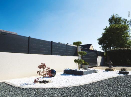 Outdoor les cl tures s ouvrent au design efficacit et for Cloture exterieur design