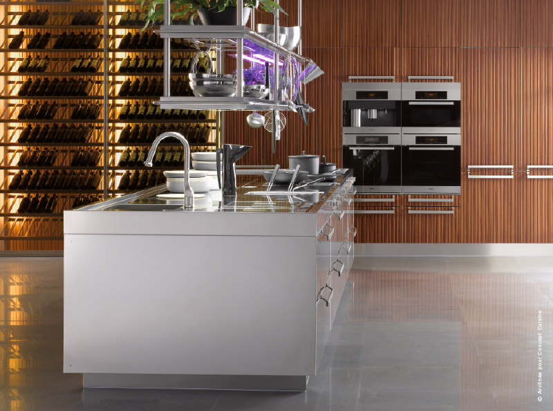 Comment s 39 quiper d 39 une cuisine design et fonctionnelle for Bulthaup annecy