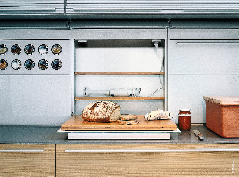 Comment s 39 quiper d 39 une cuisine design et fonctionnelle - Poubelle de plan de travail ...