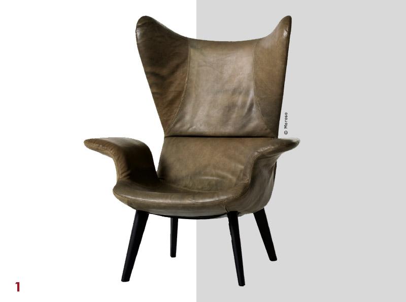 Fauteuil Contemporains : Mobilier les fauteuils contemporains plus tendance