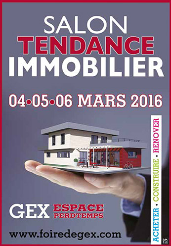 salon tendance immobilier mars 2016 traits d 39 co magazine. Black Bedroom Furniture Sets. Home Design Ideas