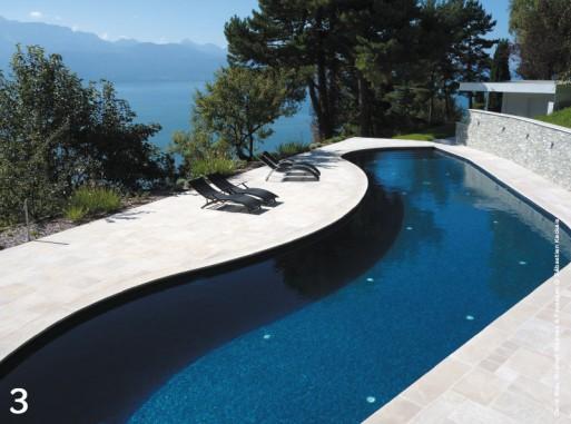 10 piscines de r ve avec traits d 39 co blog habitat for Piscine design mosaique