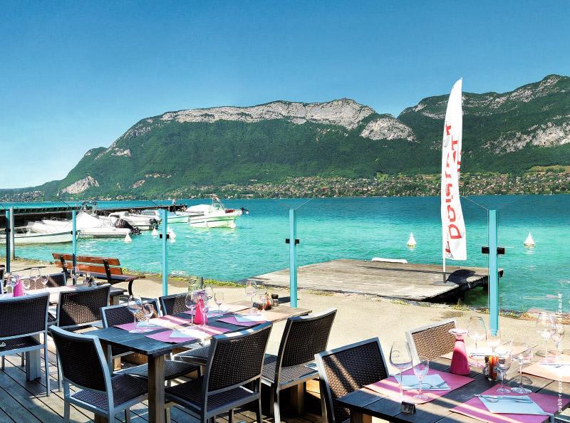 Restaurant Au Port De Sevrier