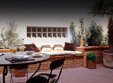 Loft et patio : l'accord parfait