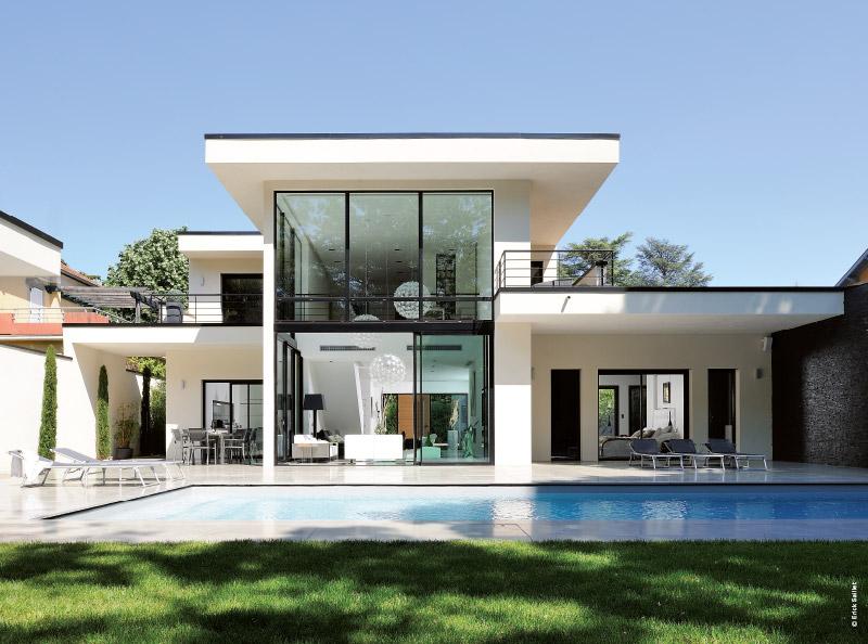 Lyon une maison californienne visite privee traits d 39 co - Plan maison californienne ...