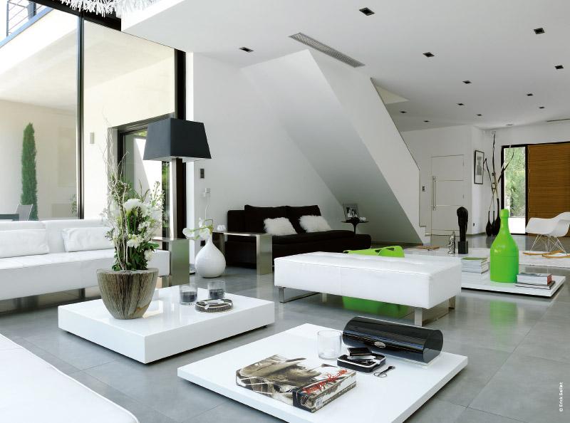 Awesome maison moderne californienne gallery design for Plan maison californienne