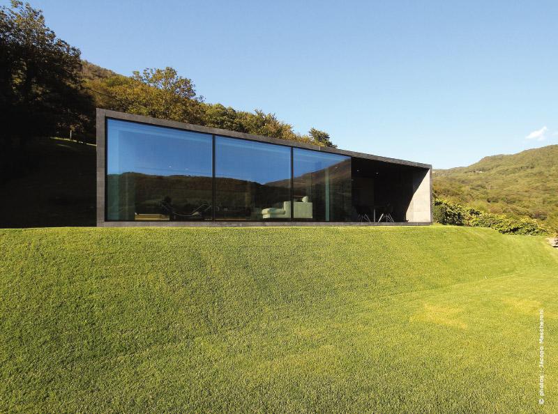 Alpes Suisses maison d'architecte