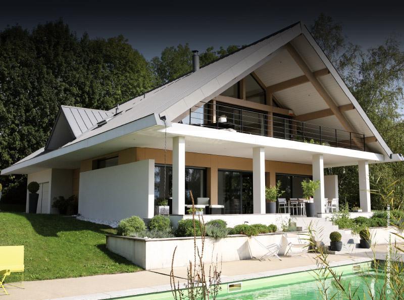 visite d 39 une maison d 39 architecte lac du bourget