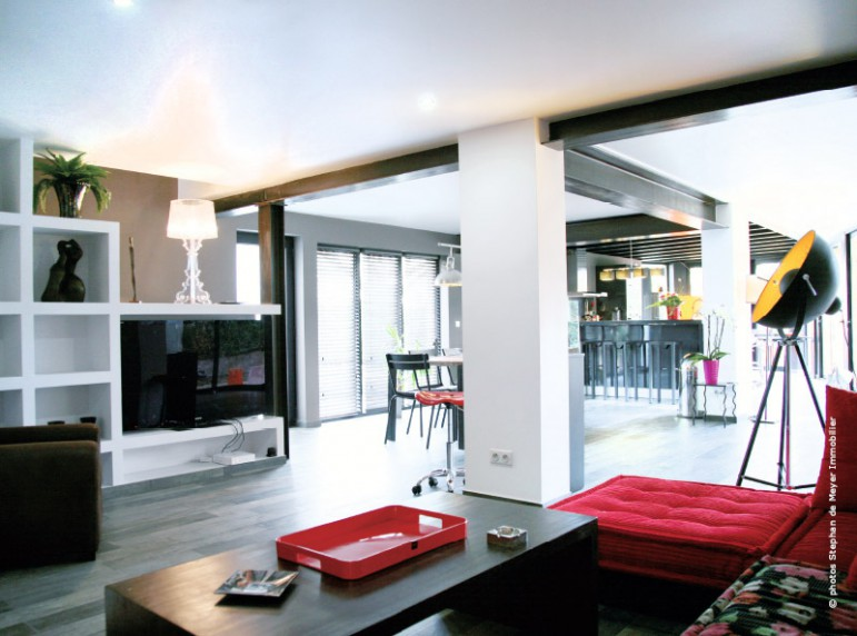 R novation et extension de maison un projet d 39 ampleur annecy - Poutre ipn apparente ...