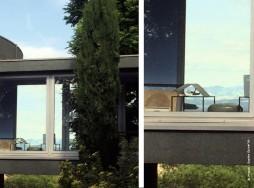 la maison ronde plant e sur les monts d or traits d 39 co. Black Bedroom Furniture Sets. Home Design Ideas
