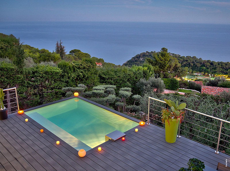Mini piscine design maxi d tente tour d 39 horizon par for Acheter liner piscine