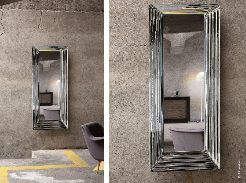 le miroir d co ou mati re r flexion par traits dco magazine. Black Bedroom Furniture Sets. Home Design Ideas