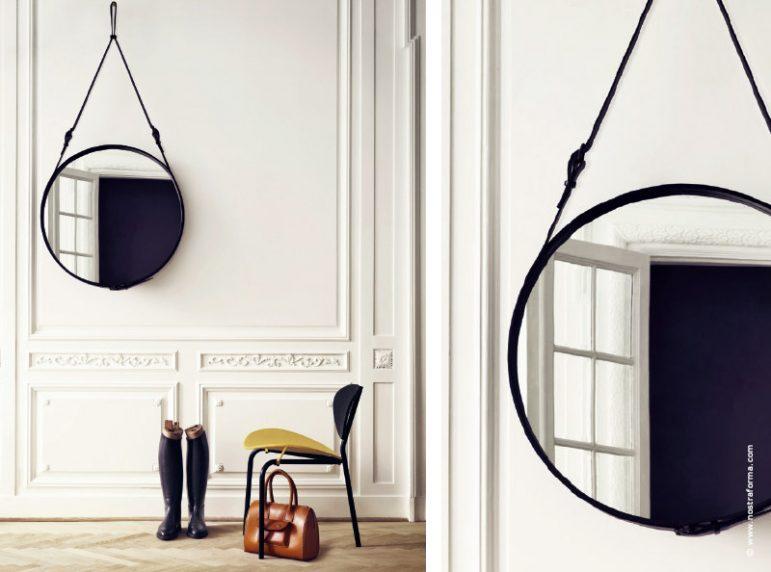 Le miroir d co ou mati re r flexion par traits dco magazine for Miroir sur mesure luxembourg