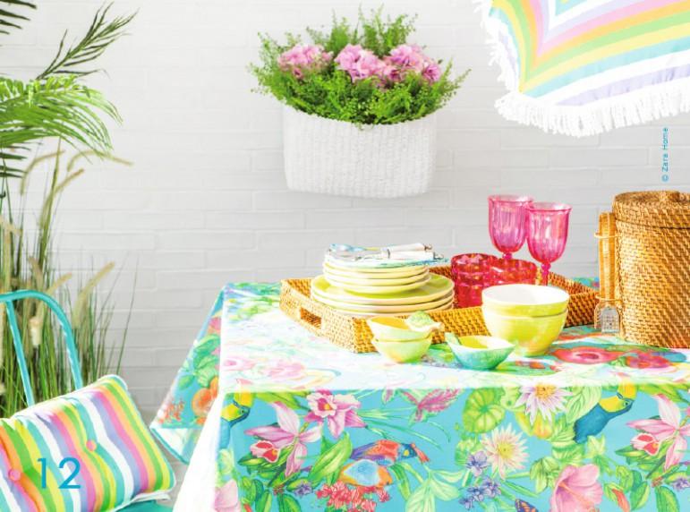 Zara Home Vaisselle Tropicale