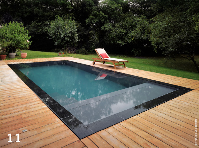 Piscine la star de nos t s traits d 39 co magazine for Piscine miroir avec plage