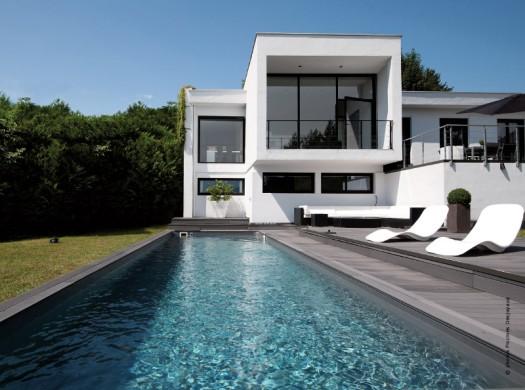 D couvrez les derni res tendances piscines avec traits d 39 co for Construction piscine autorisation