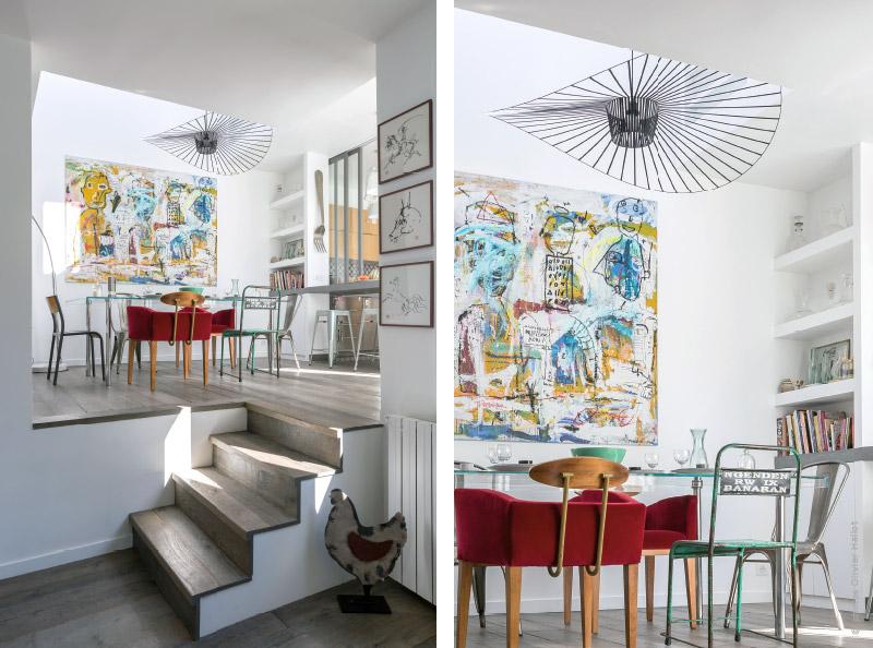 Extrêmement TRAITS DCO magazine : Rénovation d'une maison de famille NY03