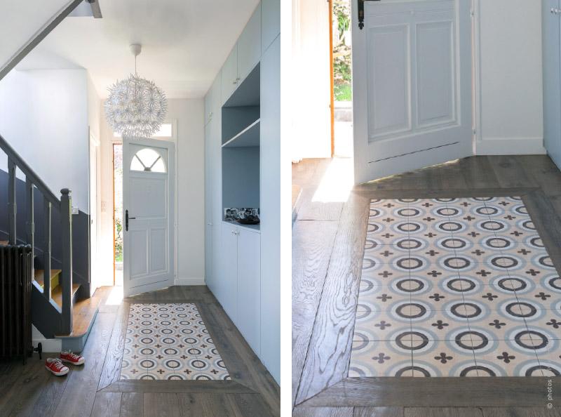 Traits dco magazine r novation d 39 une maison de famille for Renovation complete maison