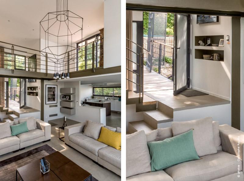 barge flottante r novation architecte sur la seine paris. Black Bedroom Furniture Sets. Home Design Ideas