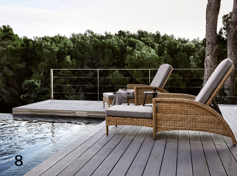 Outdoor la s lection traits dco salon de jardin design - Jardin design magazine ...