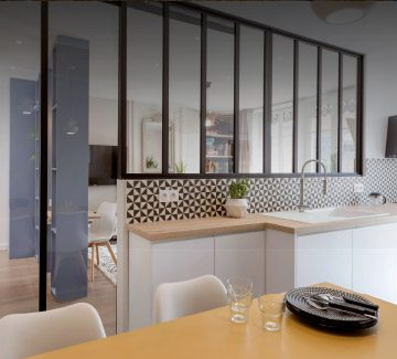 T2 Lyon rénovation par Marion Lanoë