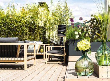 une terrasse annecy quand le design s invite sur les toits traits d 39 co magazine. Black Bedroom Furniture Sets. Home Design Ideas