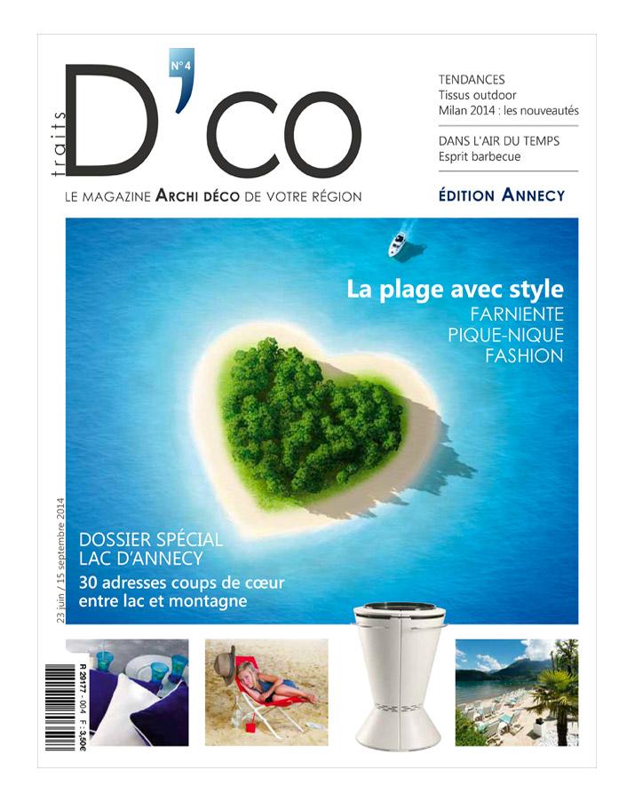 traits dco magazine n 4 juin 2014 traits d 39 co magazine. Black Bedroom Furniture Sets. Home Design Ideas