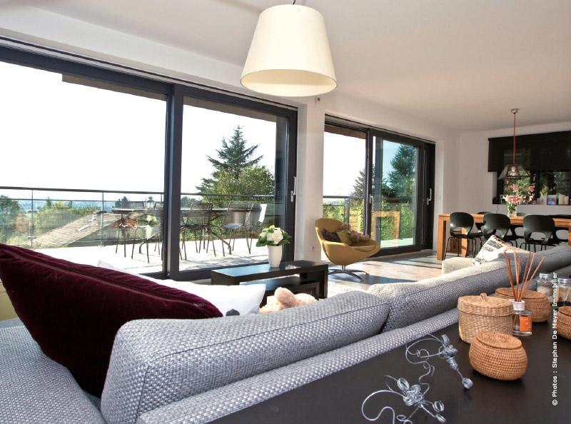 Villa Graphique Stephan De Meyer Immobilier 5 Traits D