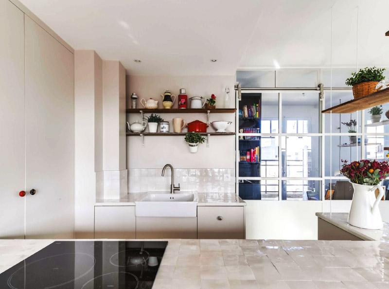 zellige credence back crdence zellige noir couleur zellige credence cuisine with renovation. Black Bedroom Furniture Sets. Home Design Ideas