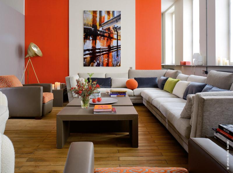 Visite d 39 un appartement design lyon le contemporain en for Appartement design lyon