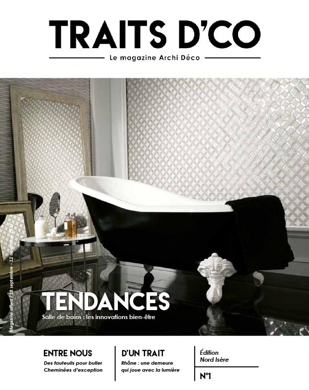 magazine d coration archi design traits d 39 co nord is re n 1. Black Bedroom Furniture Sets. Home Design Ideas