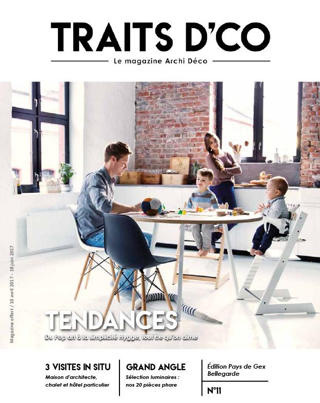 magazine d coration archi design traits d 39 co pays de gex n 11. Black Bedroom Furniture Sets. Home Design Ideas