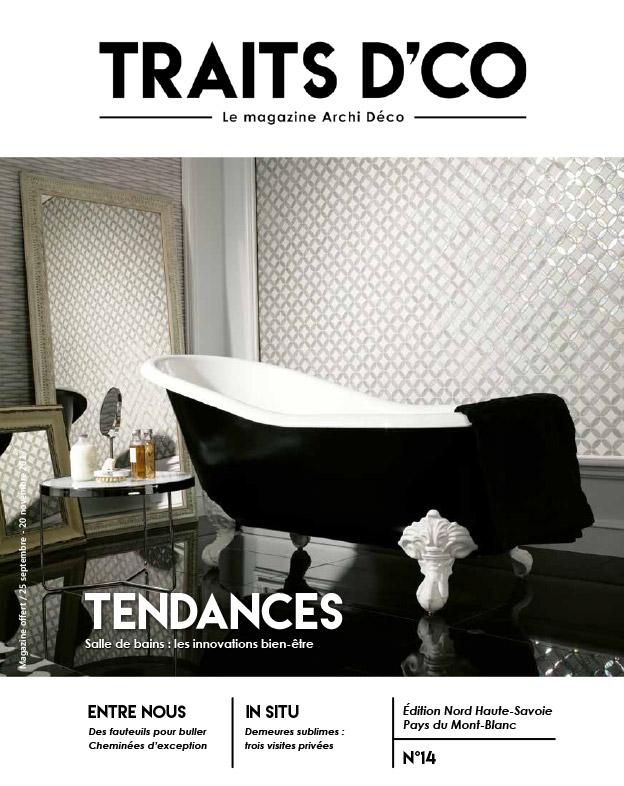 magazine d coration archi design traits d 39 co nord haute savoie n 14. Black Bedroom Furniture Sets. Home Design Ideas