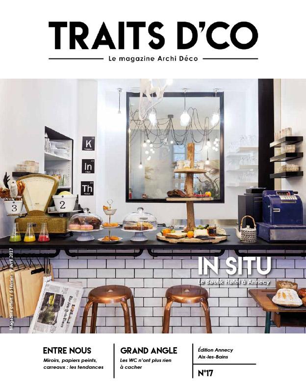 magazine d coration archi design traits d 39 co annecy aix les bains n 17. Black Bedroom Furniture Sets. Home Design Ideas
