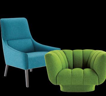 fauteuils design et confort