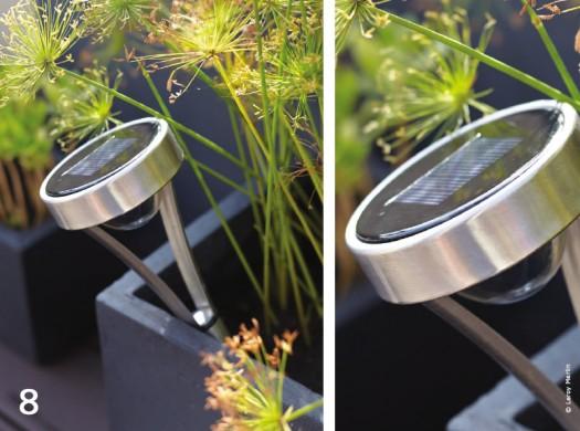 Jardin design lumineux belles de nuit traits d 39 co magazine - Luminaire exterieur leroy merlin ...