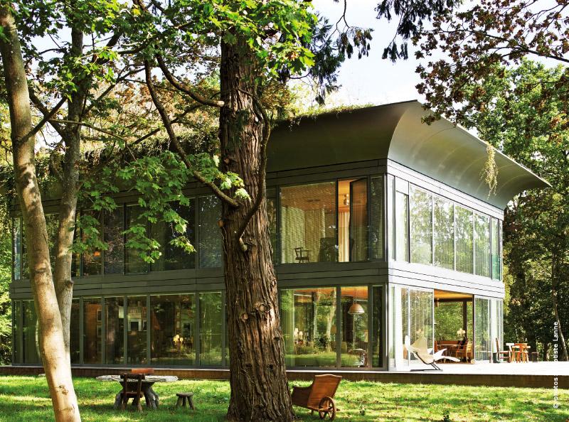 habitat ecologique path une cr ation sign e philippe starck. Black Bedroom Furniture Sets. Home Design Ideas