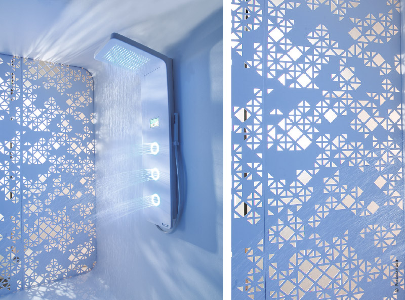 salle de bains solid surface