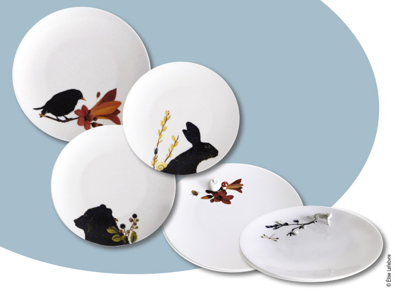 l art se met table vaisselle design pour un repas de f te. Black Bedroom Furniture Sets. Home Design Ideas
