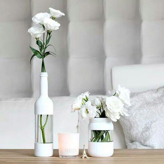 diy vase bouteille