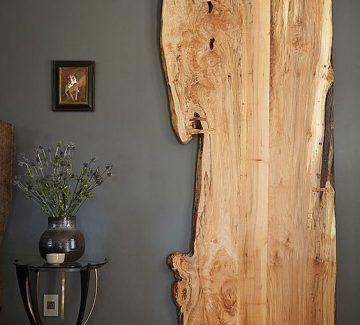 La porte coulissante en bois