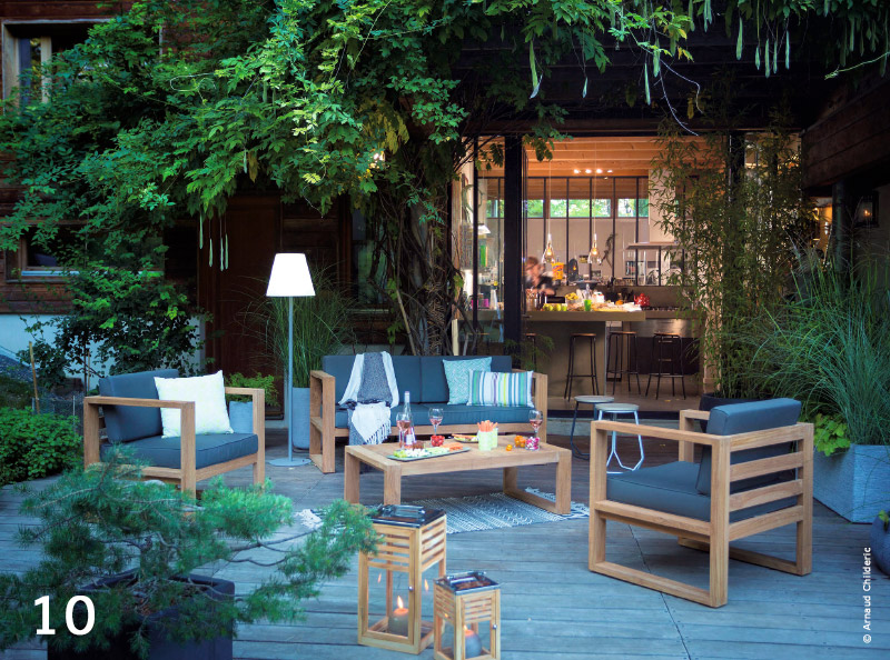 Outdoor : mobilier de jardin, l\'âme nature - TRAITS D\'CO Magazine