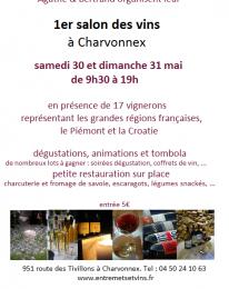1er salon des vins à Charvonnex