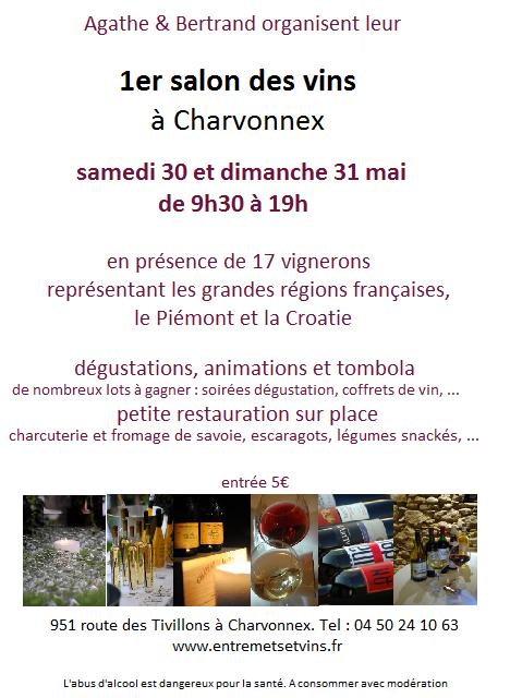 1er salon des vins charvonnex traits d 39 co magazine for Salon vin grenoble
